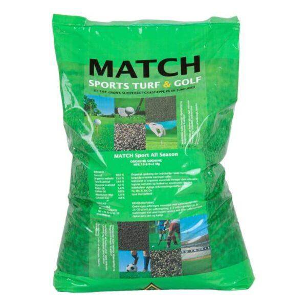 match sport gødning til græsplæne