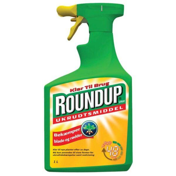 Round up sprayflaske