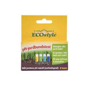 pH-test jord og græsplæner