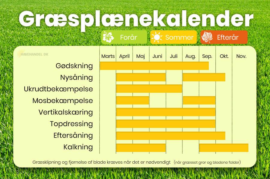 græsplæne kalender