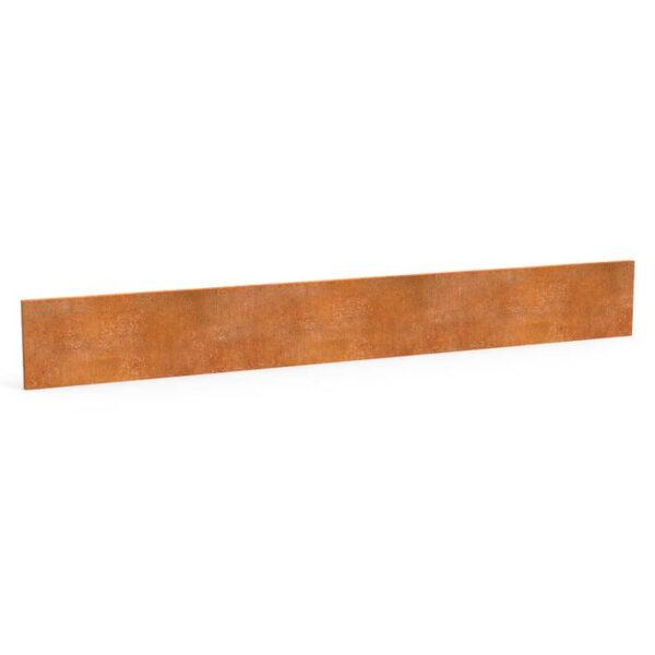 cortenstål græskant 15 cm