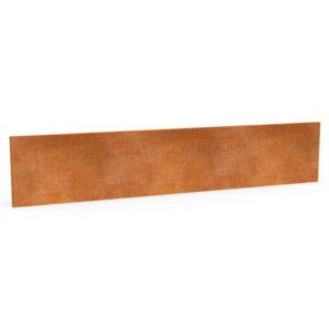 græskant i cortenstål 25 cm