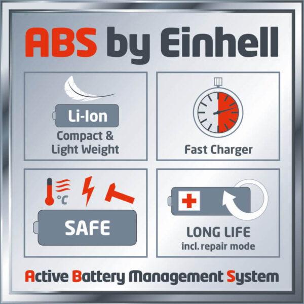 gode batterier fra einhell
