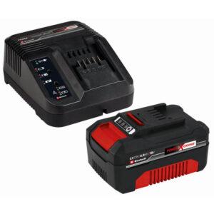 Einhell Sæt med oplader og batteri 18 V 4,0 Ah P-X-C