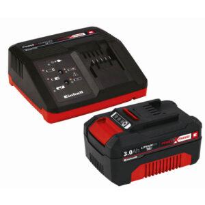 Einhell Sæt med oplader og batteri 18 V 3,0 Ah P-X-C