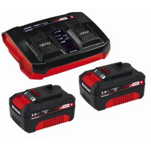 Einhell PXC-startsæt - 2x 3,0Ah & Twincharger Kit