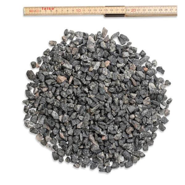 8-11 mm grå granitskærver