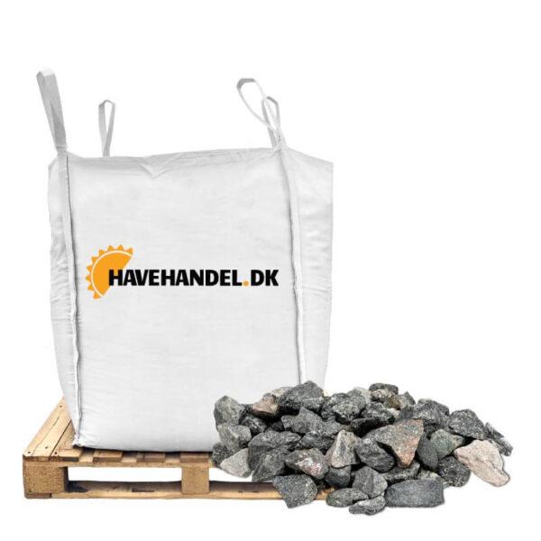 16-32 millimeter grå granitskærver i bigbag fra havehandel.dk