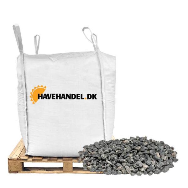 bigbag med grå 8-11 mm granitskærver fra havehandel.dk