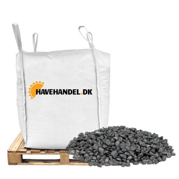 8-11 mm sorte granitskærver fra havehandel