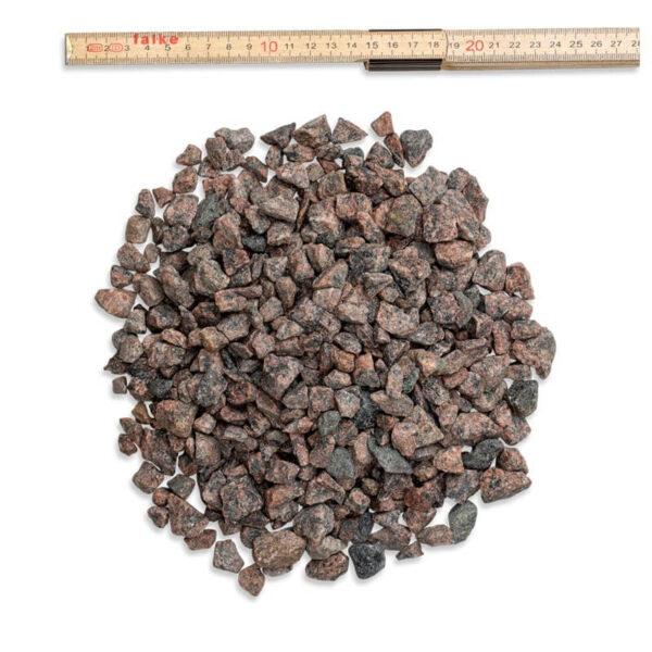rødmix 8-16 mm granitskærver