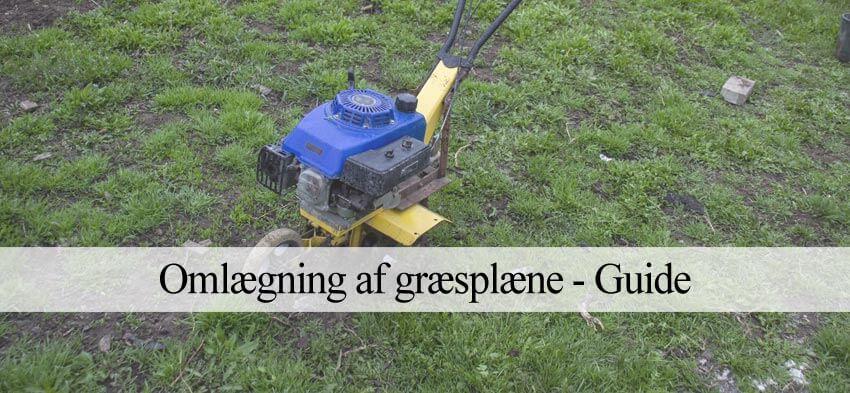 Omlægning af græsplæne