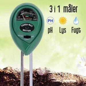 ph måler til jord